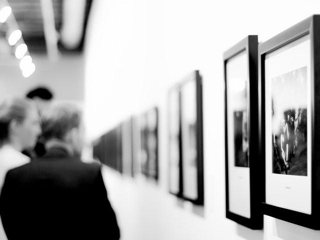Bilder på utstilling.